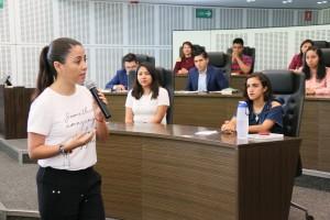 Foto1 Dip. Daniela Salgado, Asamblea Obrera