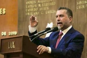 Foto Dip. Hugo Cabrera, Primer Informe Legislativo