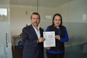 foto Diputados Bety Marmolejo y Hugo Cabrera