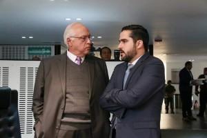 foto Diputados Jorge Herrera y Agustín Dorantes